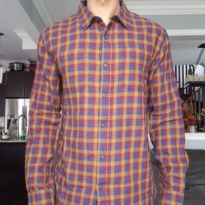 Vans Flannel Long Sleeve Button Up Shirt Size XL